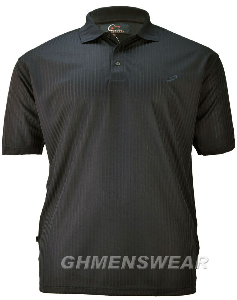 Perfect Collection Self Stripe Polo Shirt